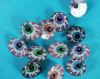 Eyeball pins