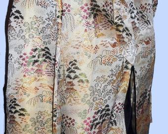 Vintage 1940's Golden Jacket /Asian style. Sz  M