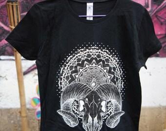 T-shirt - Mandala - Beelzebub - Black