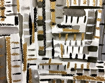 original abstract painting , wall art, abstract original , silver, gold, happy art, colorful art, whimsical art