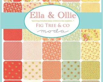 Ella & Ollie Half Yard bundle by Fig Tree and Co. -  Complete set