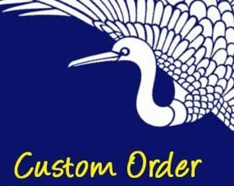 CUSTOM ORDER for Lise Williams
