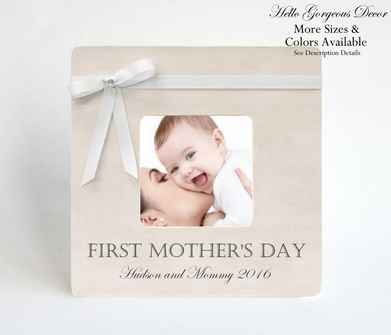 Mother\'s Day Gift FIRST MOTHER\'S DAY Picture Frame To Mom ...