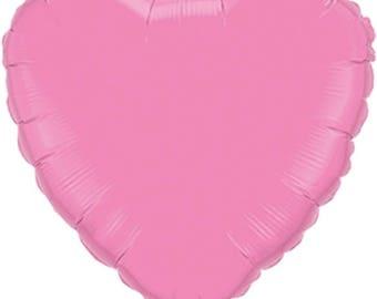 Valentine's Day HEART BALLOON, Rose HEART Balloon