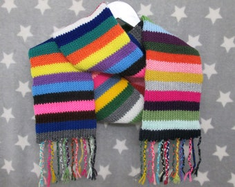 Knit Scarf - Chaos Stripes - 36 different colors!