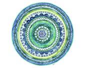 Watercolor Mandala Painti...