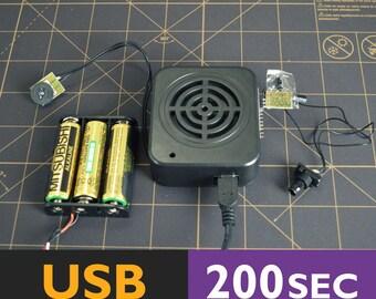 Motion Sensor Sound Box   Motion Activated, Talking Box With Motion Sensor, Motion Detector, Recordable Box    200 Seconds