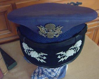 U.S.A.F. Lieutenant Colonel  Dress Uniform Service Cap