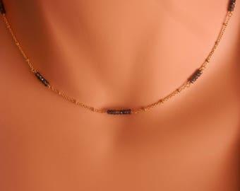 September birthstone necklace sapphire necklace gold sapphire bracelet sterling silver sapphire jewelry bridesmaid bracelet sapphire gold br