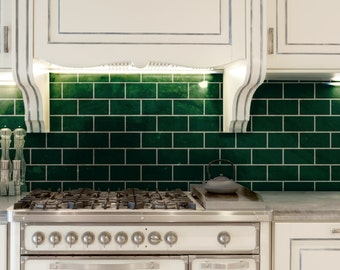 Subway Tile Allover Wall Stencil