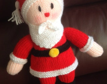 Knitted Santa Claus/Father Christmas