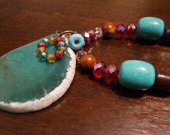 Turquoise Passion: Necklace Set