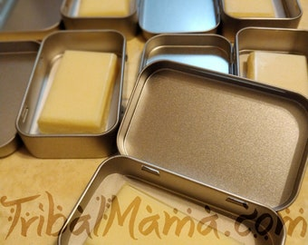 Custom Scented Lotion Bars with Tin