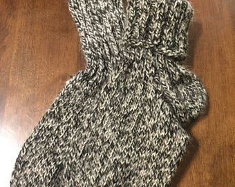 Kids handmade non-itchy wool socks