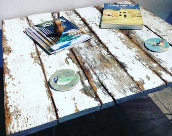 Rustic Modern Reclaimed Wood Coffee Table, Hairpin Legs, Barn, Farm, Farmhouse, Distressed, Industrial