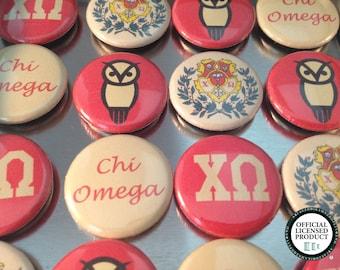 Chi Omega Magnet Set