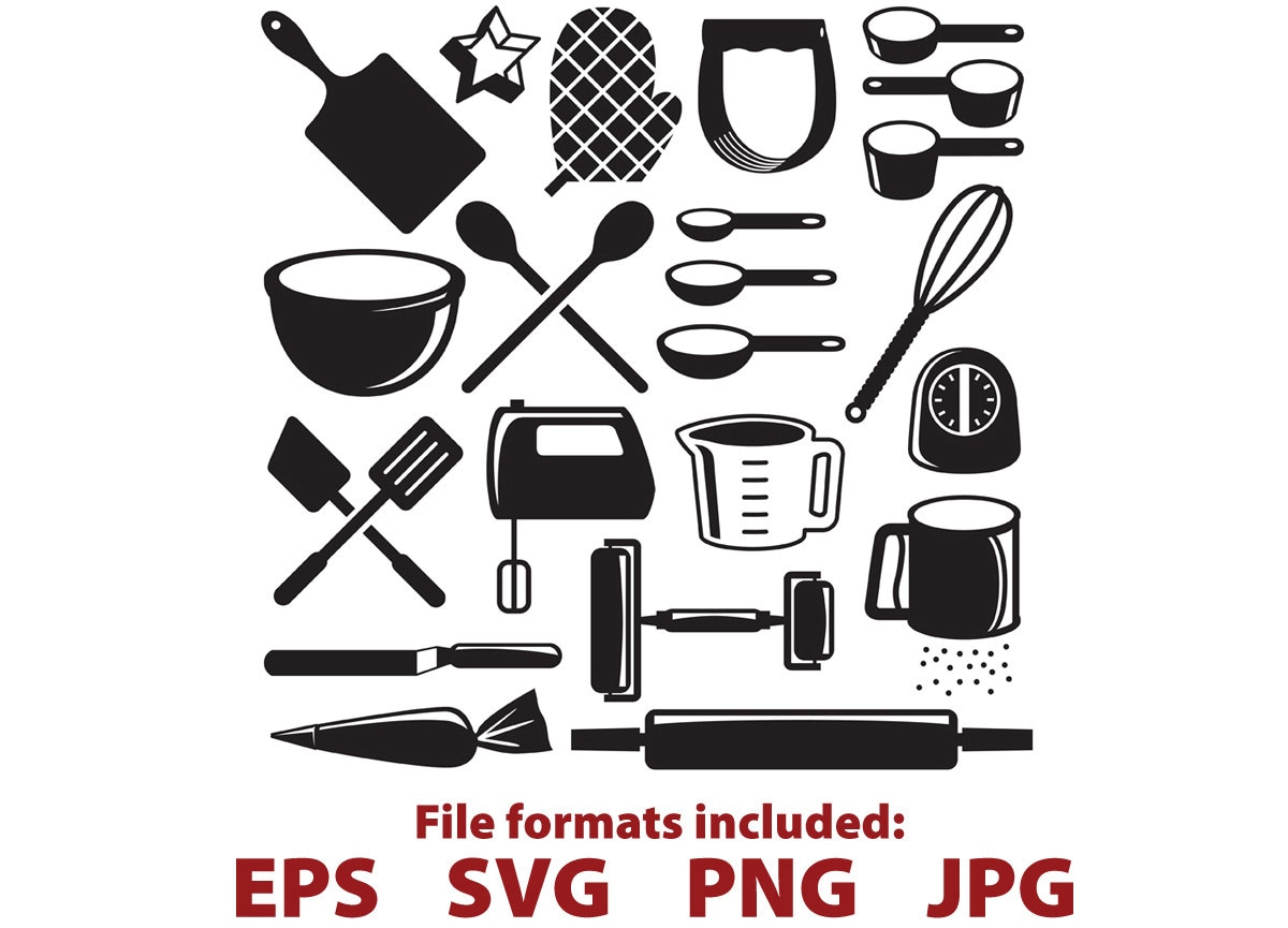 Kitchen Tools Kitchen Clipart Baking Tools Baking Cooking
