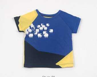 trendy kids clothes, big brother shirt, hippie clothes, hipster graphic tee, unique gifts, cool upcycled clothing, graphic tees, zero waste