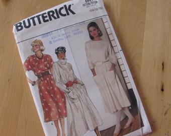 Uncut Butterick 6681 Sewing Pattern - Misses Dress - Size 14-18