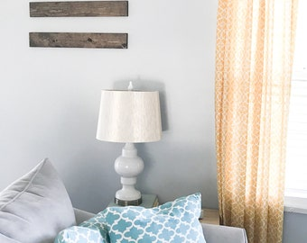 Wood Plank Wall Hanging Set