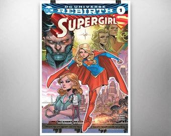 Supergirl #1 (DC Universe Rebirth) - Poster Art Print