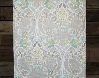 A Street Prints Willow Grey Nouveau Floral Wallpaper SZ001810 - Sold by the Yard