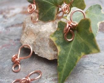 Handmade Copper Pendant Bails III, PurpleLily Designs, SRA