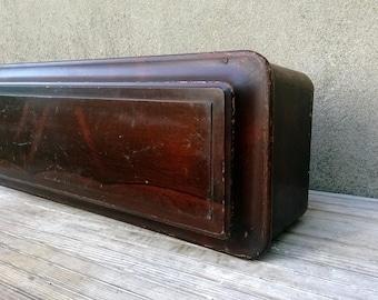 Antique Civil War Victorian Era Child Coffin New Old Stock