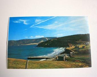 Capstick Nova Scotia Postcard / Cape  Breton Postcard / Nova Scotia Postcard / Capstick Cape Breton