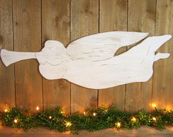 Christmas Angel Wall Decor Wooden Angel Decor Wooden Christmas Decoration Wood Christmas Decor Angel Gift Guardian Angel Sign Holiday Decor