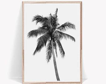 Palm Print,Black and White,Palm Art,Palm Poster,Palm Digital Print,Palm Tree Print,Palm Tree,Palm Print Art,Palm Tree Decor,Palm Wall Art