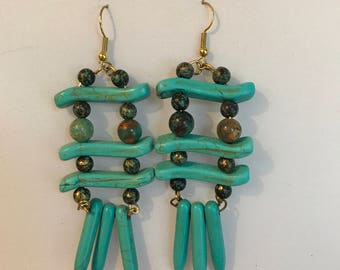 Ultra Turquoise Earrings