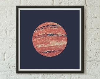 Jupiter - Fine Art Digital Giclee Print