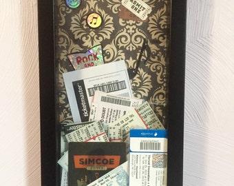 Ticket Stub Display Music
