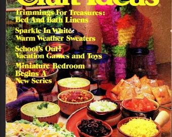 Decorating Craft ideas - Vintage Magazine, June 1982
