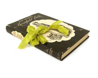 Mansfield Park by Jane Austen,Goldfinch Titles, 1940's Vintage Book, Jane Austen Book, Old Jane Austen Book, Austen Wedding Decor