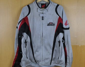 Vintage Jacket Honda Zipper Sport Sweatshirt Super Bolder Nice Shirt Men Women Clothing