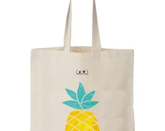 tote bag Ananas is the new Orange