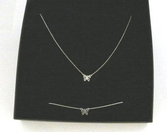 Minimalist sterling silver set