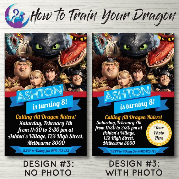How to train your dragon invitation hiccup and toothless add it to your favourites to revisit it later ccuart Choice Image