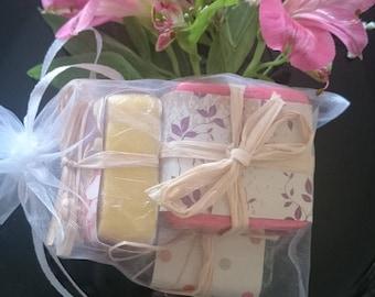 Set of 3 Boutique soap