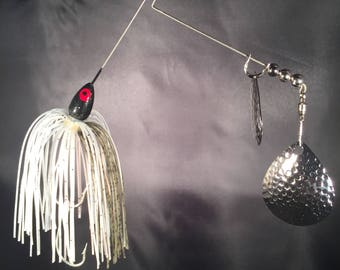 3/8 oz. Space Ghost Spinnerbait (Black Head)