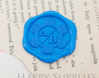 1pcs Custom Wax Seal Stamp Initial Alphabet Sealing Wax Stamp,Personalized Monogram Calligraphy Wedding Invitation Letter Metal Stamp(WS470)