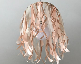 Ribbons and Lace lamp