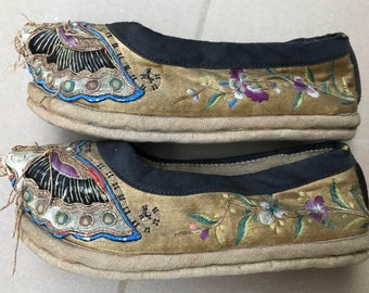 Pair of antique (19th century?) Chinese shoes