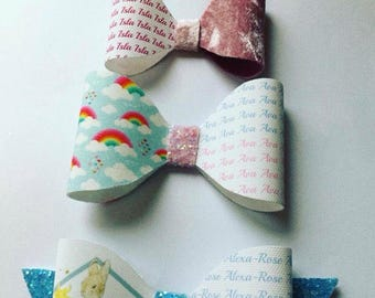 Bow personalisation