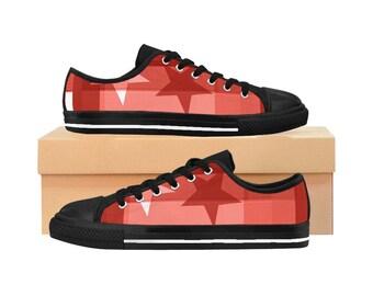 Skateboard Pro Sneakers Red