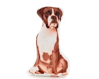 Boxer, Boxer Dog,  Dog lovers, Dog Lover Gifts, Dog Gifts, Dog Decor, Boxer Gifts, Gifts for Him, Pet Memorial Gift, Boxers, Throw Cushion