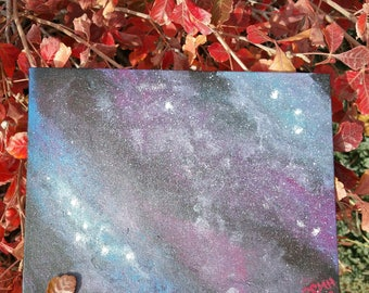 Acrylic Galaxy One of a Kind Painting!