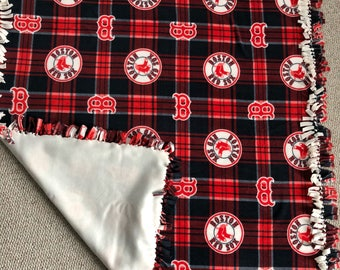 """Baseball season blanket 52"""" x 62"""""""